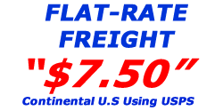 7.50 Flat-Rate Freight