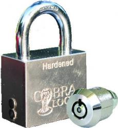 Cobra FLEX PAdlock with Cobra 7 Cylinder