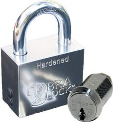 Cobra FLEX Padlock with Medeco Cylinder