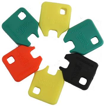 Tubular Key Covers For Cam Locks From Lsidepot Com