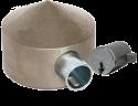 Cone-Head Universal PUCK Padlock (w/Medeco)