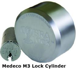 Universal PUCK Padlock with Medeco