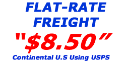 8.50 Flat-Rate Freight